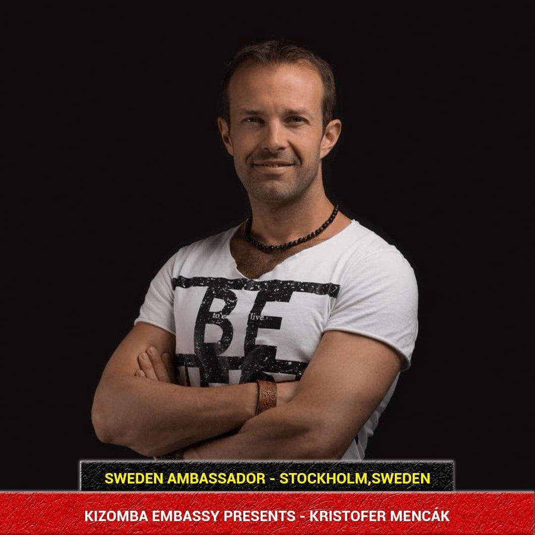 Kizomba Dancer from Sweden - Kristofer Mencak