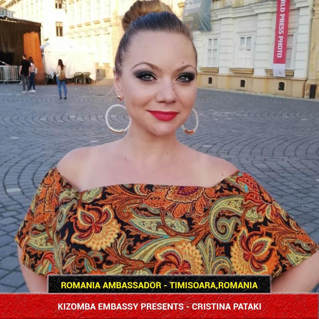Kizomba Dance Instructor Cristina Pataki from Romania