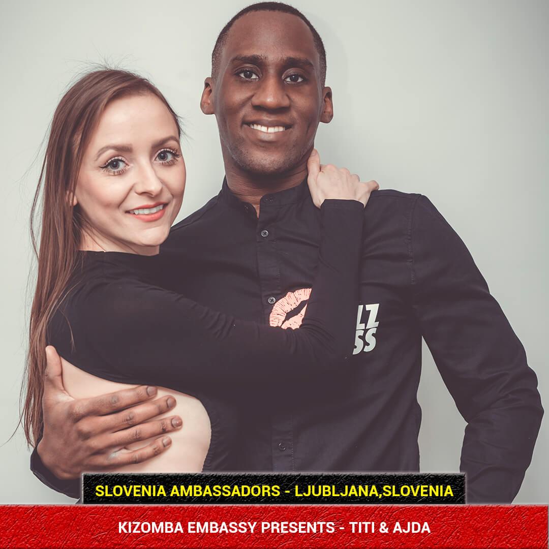 Titi & Ajda Kizomba Ambassadors