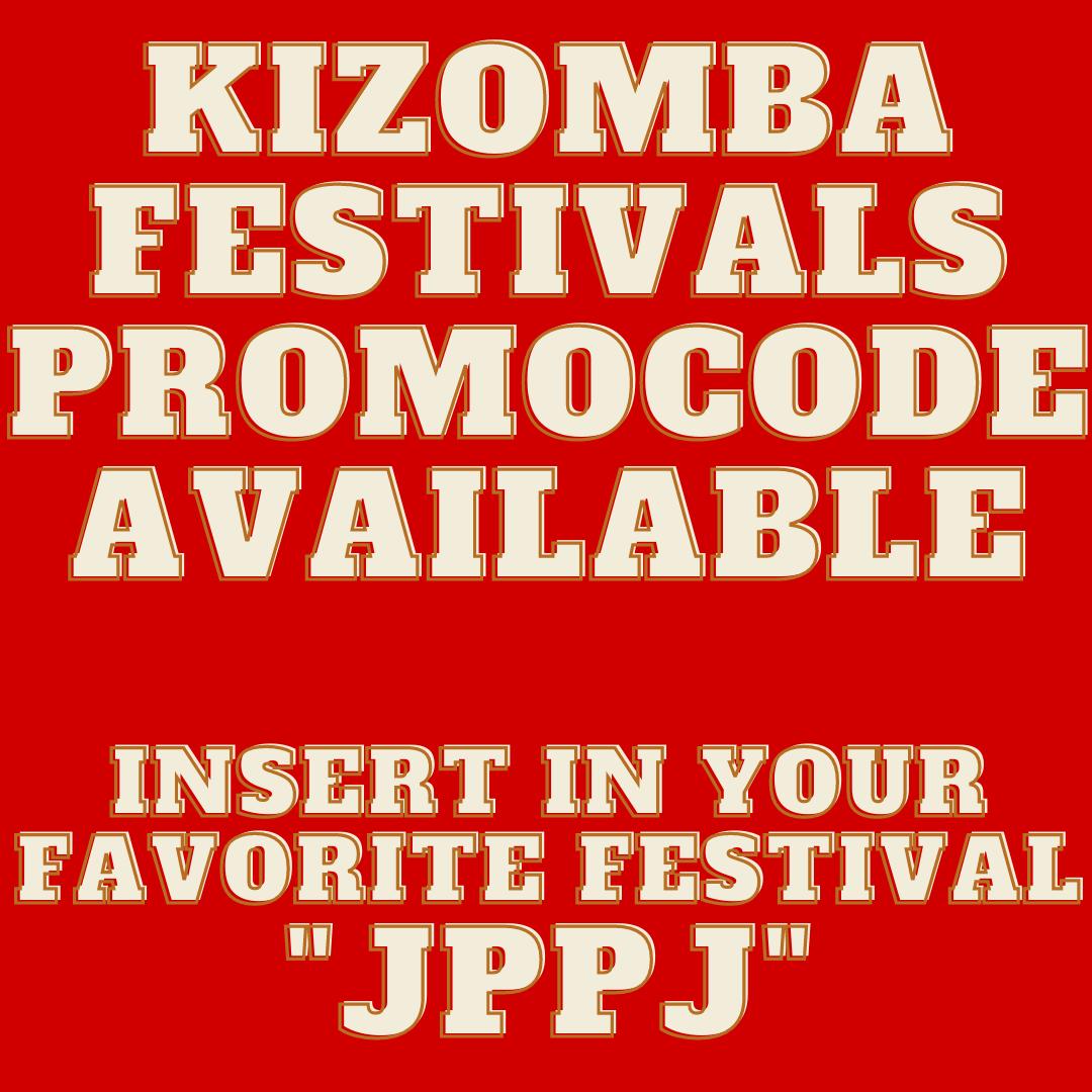 Kizomba Festivals Events Calendar Promocode JPPJ