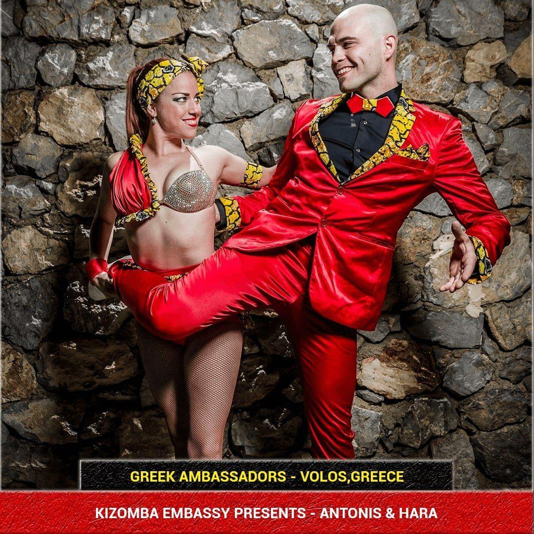 Kizomba Artists from Greece - Antonis & Hara