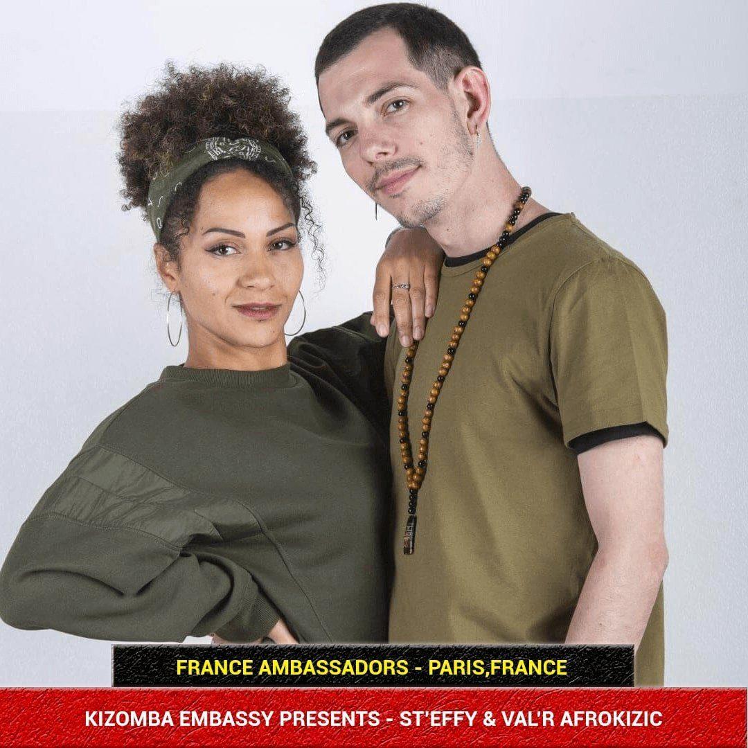 Kizomba Embassy Ambassadors - St'effy & Val'r Afrokizic