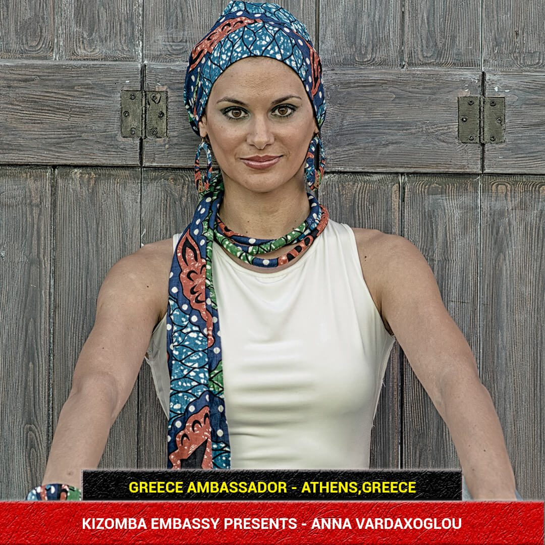 Kizomba Dancer Anna Vardaxoglou